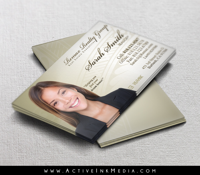 Remax realtor realty office business card template for Remax business card templates